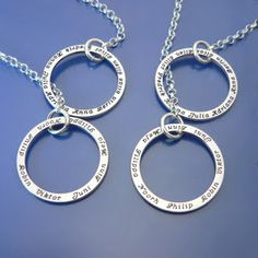 ALL the loved ones! #personalized #necklace