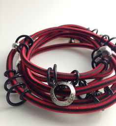Red Original Loopt Jewels, Bracelets, Leather, Mary, Jewellery, Red, Clothes, Bangles, Jewelery
