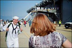 navy homecoming photography