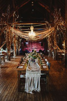 Lighted trees will make your reception feel like an enchanted forest | Brides.com