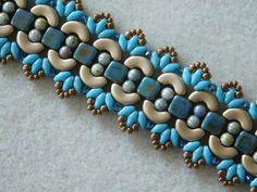 Beaded Bracelet Tutorial Beading Bracelet Pattern Persephone