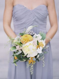 Texas Wedding: Tangy Tangerine and Pretty Periwinkle