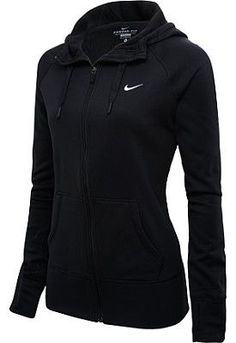 Black Nike Hoodie. So cool!