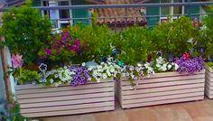 Come costruire una fioriera con legno o pallet - Video tutorial fai da te-