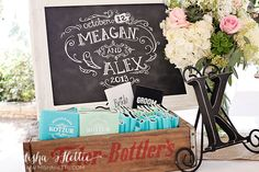 Wedding koozies for guest favors
