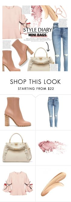 """""""Untitled #707"""" by ladybow ❤ liked on Polyvore featuring Valentino, Fendi, Roksanda, H&M, tarte and Love Is"""