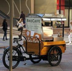 Coffee and Biking! Perfection.