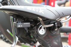 for more Reduce Drag? Detail of Cavendish's Cervelo S5.