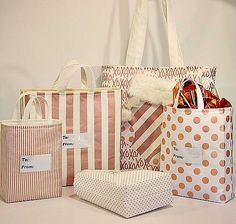 Year Round Multi-size Gift Bags – Sew and Sell A Digital Sewing Pattern Download from Sewn Ideas