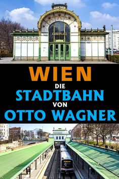 Otto Wagner, S Bahn, Highlights, Louvre, Building, Travel, Urban Park, New Construction, Explore