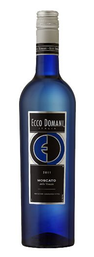 Ecco Domani Moscato is my new favorite. It's refreshing and not too sweet. Perfect!