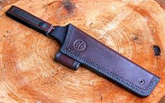 Bushcraft knife sheath