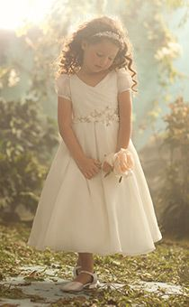 Royal Blossoms   Alfred Angelo Flower Girl Dresses   Disney's Fairy Tale Weddings & Honeymoons