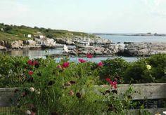 Celia Thaxter Gardens - Isle of Shoals Maine