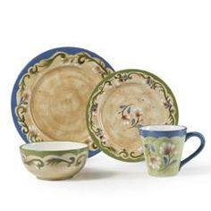 Dinnerware Set, 16 Pc. - Pfaltzgraff Tuscany Floral