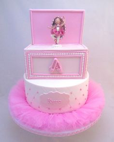 Ballerina music box cake Music boxs Pinterest Boxed cake