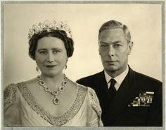 1947 - Queen Elizabeth, The Queen Mother & King George VI.