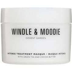 Windle and Moodie Intense Treatment Masque 200ml (510 ZAR) ❤ liked on Polyvore featuring beauty products, haircare, hair conditioner, fillers, beauty, makeup, white fillers, cosmetics and green tea mask