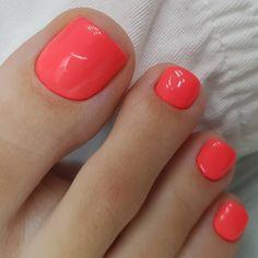 Pedicure Designs, Toe Nail Designs, Pretty Pedicures, Toe Nails, Red Toenails, Beauty Routines, Nail Polish, Make Up, Beautiful Toes
