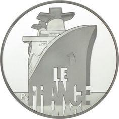 50 Euro Silber Französische Schiffe: France - 5 Unzen PP