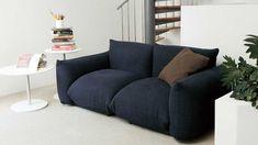 arflex Marenco Sofa Designed by Mario Marenco, 1971 Italian Furniture, 2 Seater Sofa, Sofa Furniture, Sofa Design, Sofas, Love Seat, Mario, Couch, Throw Pillows