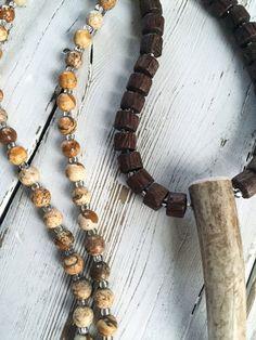 Deer Antler Necklace Horn Necklace Bohemian Jewelry