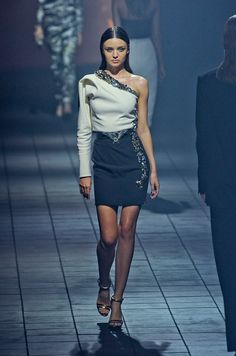 One of my favorites for this season by Albert Elbaz for Lanvin .... gorgeous, feminine, sparkling AND  classy
