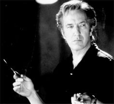 alan rickman blow dry. I just found his expression to be absolutely hilarious today.