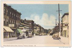 King Street , COBOURG , Ontario , Canada , 30-40s - Delcampe.com