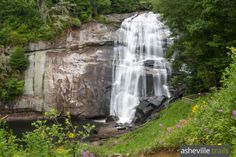 Hike to Rainbow Falls in NC near Gorges State Park