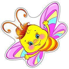 Бабочка. Радужный плакат для оформления