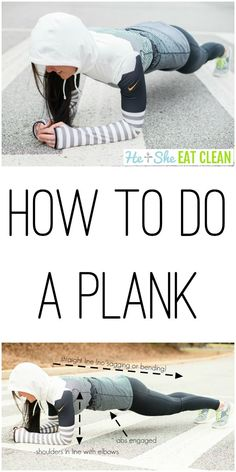 Skip the crunches and build a strong core with planks! #abs #core #fitness
