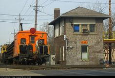RailPictures.Net Photo: EJE 195 Elgin, Joliet & Eastern Railway Caboose at West Chicago, Illinois by John Ireland