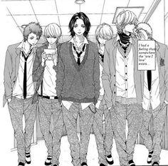 Manga name? please comment sekai wa kimi wo sukuu Manga Anime, Anime Couples Manga, Manhwa Manga, Otaku Anime, Anime Guys, Kyou Koi Wo Hajimemasu, Arte Van Gogh, Romantic Anime Couples, Manga Story