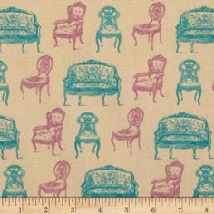 Victorian Vintage Chairs Tan
