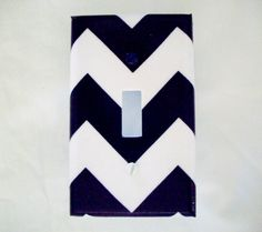 Chevron Light Switch Cover Zigzag Pattern / by cathyscraftycovers, $7.00