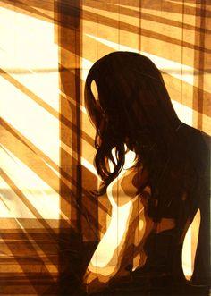 Невероятные картины из клейкой ленты Макса Зорна   Incredible Packing Tape Art by Max Zorn