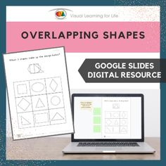 This digitally interactive resource is designed for use with Google Slides. This resource contains 10 slides in total. Answer sheets are included.The student must find the 3 shapes that make up the design at the top of the page, and drag the green highlight squares to mark the correct answers.