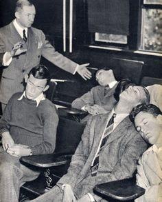 hypnotized men