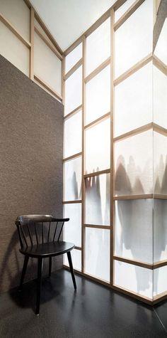 Store interior design for the fashion designer Isabel Marant. materials : floor…