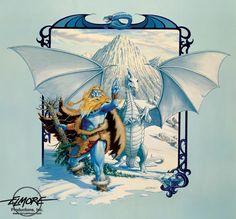 Larry Elmore - Ice Dragon