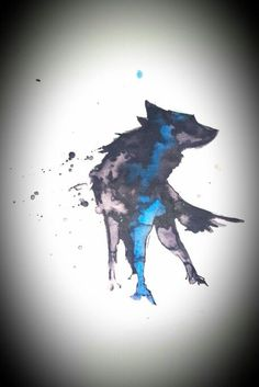 Wolf thin blue