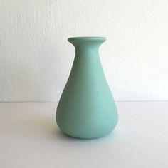 Aqua Ceramic Vase