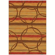 Dynamic Rugs Eclipse Spice 68146 Area Rug - EC