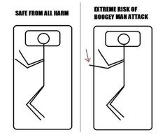 I panic if I wake up in the middle of the night with a foot and/or hand hanging off the bed in the unsafe zone.