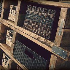 Wooden Pallet Dresser