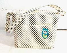 Purse Tote Bag Fabric Handmade Tote Custom by RidgeTopEmbroidery, $34.00