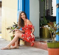Jessica Barboza One Shoulder, Shoulder Dress, My Style, Ideas Para, Street Styles, Spain, Photography, Outfits, Dresses