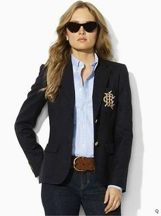 Womens Jacket RALPH LAUREN blazer
