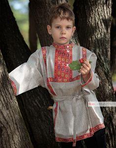 Linen Russian shirt